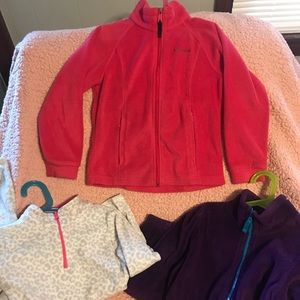 Girls size 7/8 lot Columbia & Children's Place